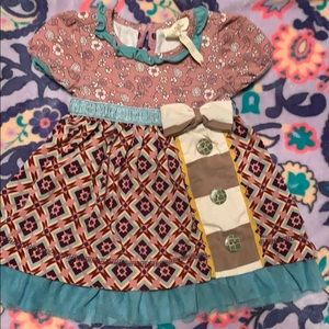 Matilda Jane dress with bloomers